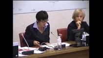Audition à la Commission des affaires étrangères de l'Assemblée nationale sur l'épidémie d'Ebola