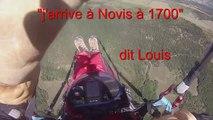 Vol en parapente de Millau à Novis