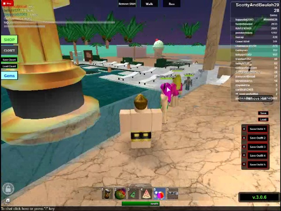 Lets Troll Od Ers Roblox Beach House Roleplay Video Dailymotion