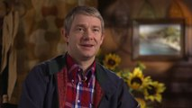 Le Hobbit : La Désolation de Smaug - Interview Martin Freeman VO