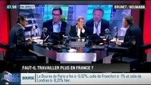 Brunet & Neumann : Faut-il travailler plus en France ? - 09/10