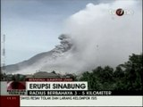 L'éruption du volcan Sinabung s'intensifie en Indonésie, après 400 ans de sommeil