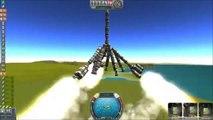 Kerbal Space Program - Part 1 - My First Space Rocket Fail - KSP Space program kerbal space station