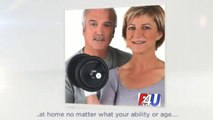 Fit4U Multi Action Abdominal Wheel Roller For Strong Core Workout