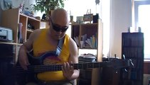 I want your love Chic live Tokyo Japan Bass cover Bob Roha