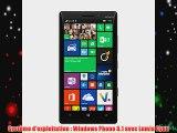 Nokia Lumia 930 Smartphone d?bloqu? 4G (Ecran: 5 pouces - 32 Go - Windows Phone 8.1) Noir