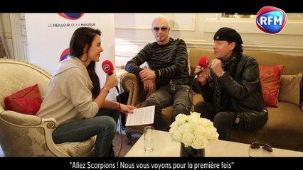 Scorpions dans le Journal Des Stars sur RFM