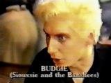 SIOUXSIE & THE BANSHEES – Budgie rare i/v ('Music Box', UK TV, 10 April 1985)