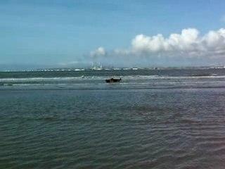 course à la mer