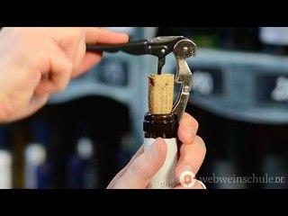 Weinschule Folge 7: Der richtige Korkenzieher