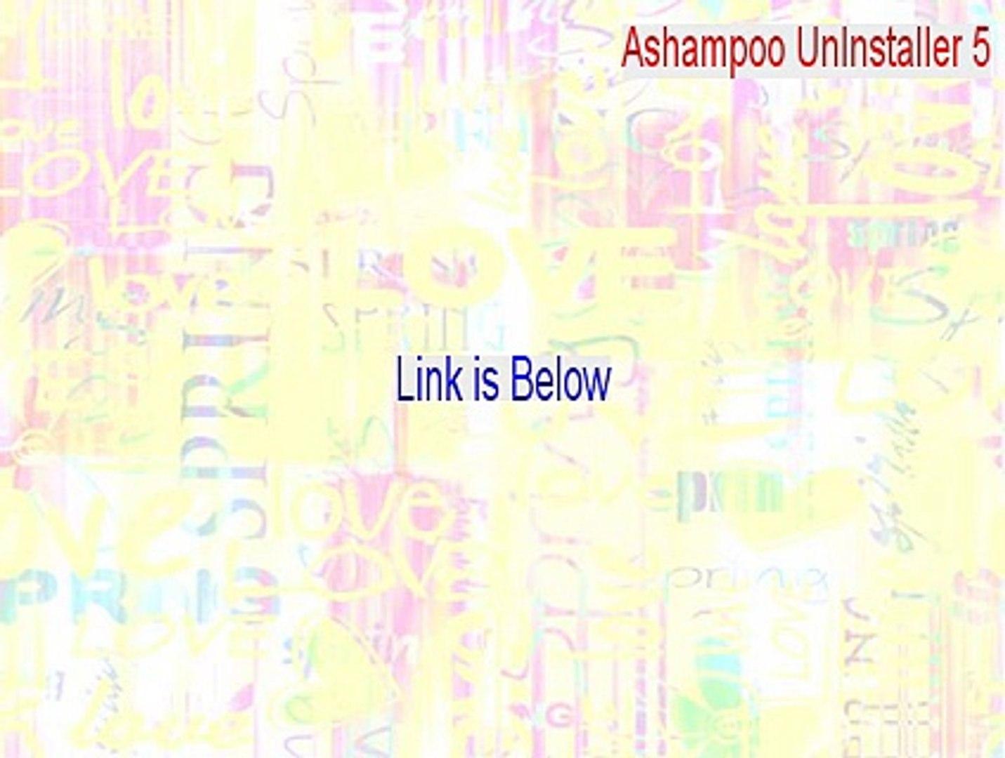 Ashampoo UnInstaller 5 Full [Download Now 2015]