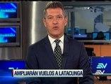 Nuevas rutas aéreas Guayaquil-Latacunga