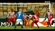 Dnipro Dnipropetrovsk 2 - 0 Olympiakos All Goals and Full Highlights 19/02/2015 - Europa League