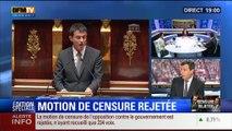 19H Ruth Elkrief: Edition spéciale Rejet de la motion de censure (1/8): Les commentaires de Thierry Arnaud et Anna Cabana - 19/02