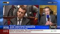 """19h Ruth Elkrief: Edition spéciale Rejet de la motion de censure (2/8): """"Je n'ai pas voulu me livrer à cet exercice"""", Jean-Christophe Fromantin - 19/02"""