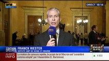 """19H Ruth Elkrief: Edition spéciale Rejet de la motion de censure: """"J'ai voté la censure, sans état d'âme"""", Franck Riester - 19/02"""