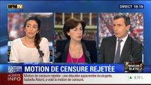 19H Ruth Elkrief: Edition spéciale Rejet de la motion de censure (5/8): Les commentaires de Thierry Arnaud et Anna Cabana - 19/02