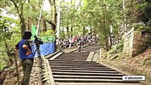 # Compilation of extreme _ falls in Downhill Mountain Biking [ HD]