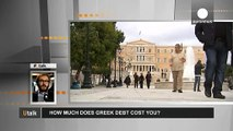 How much has the Greek debt crisis cost European taxpayers?