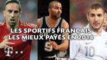 Les 5 sportifs français les mieux payés en 2014