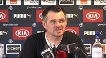 Point Presse - Willy Sagnol - Rennes vs Bordeaux