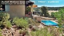 A vendre - Maison/villa - Uzes (30700) - 6 pièces - 190m²