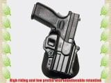 Fobus Roto Holster RH Paddle SP11RP Springfield Armory XD/XDM / HS 2000 9/357/40 5 4 / Sig