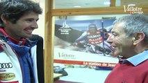 Valloire fête le retour de Jean-Baptiste Grange, son double Champion du Monde de Slalom