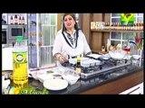 Masala Morning Shireen Anwar - Kalmi Chicken , Hyderabadi Paratha , Chocolate Shiffon Trifle, Roh Afza Kashmiri Chai Recipe on Masala Tv -19th February 2015