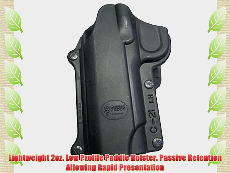 Fobus Standard Holster Left Hand Hand Belt C21LHBH 1911 Style-All Models / S