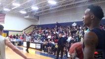 """Basket - Un lycéen fait une """"Scottie Pippen"""" à son adversaire pour aller dunker"""