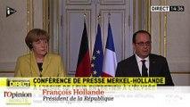 """François Hollande: """"la Grèce doit rester dans la zone euro"""""""