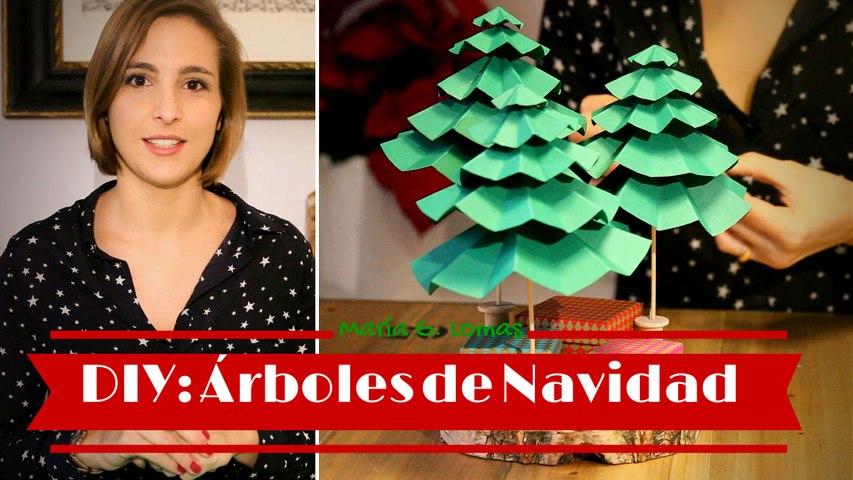 DIY: Cómo hacer árboles con cartulinas | María G. Lomas