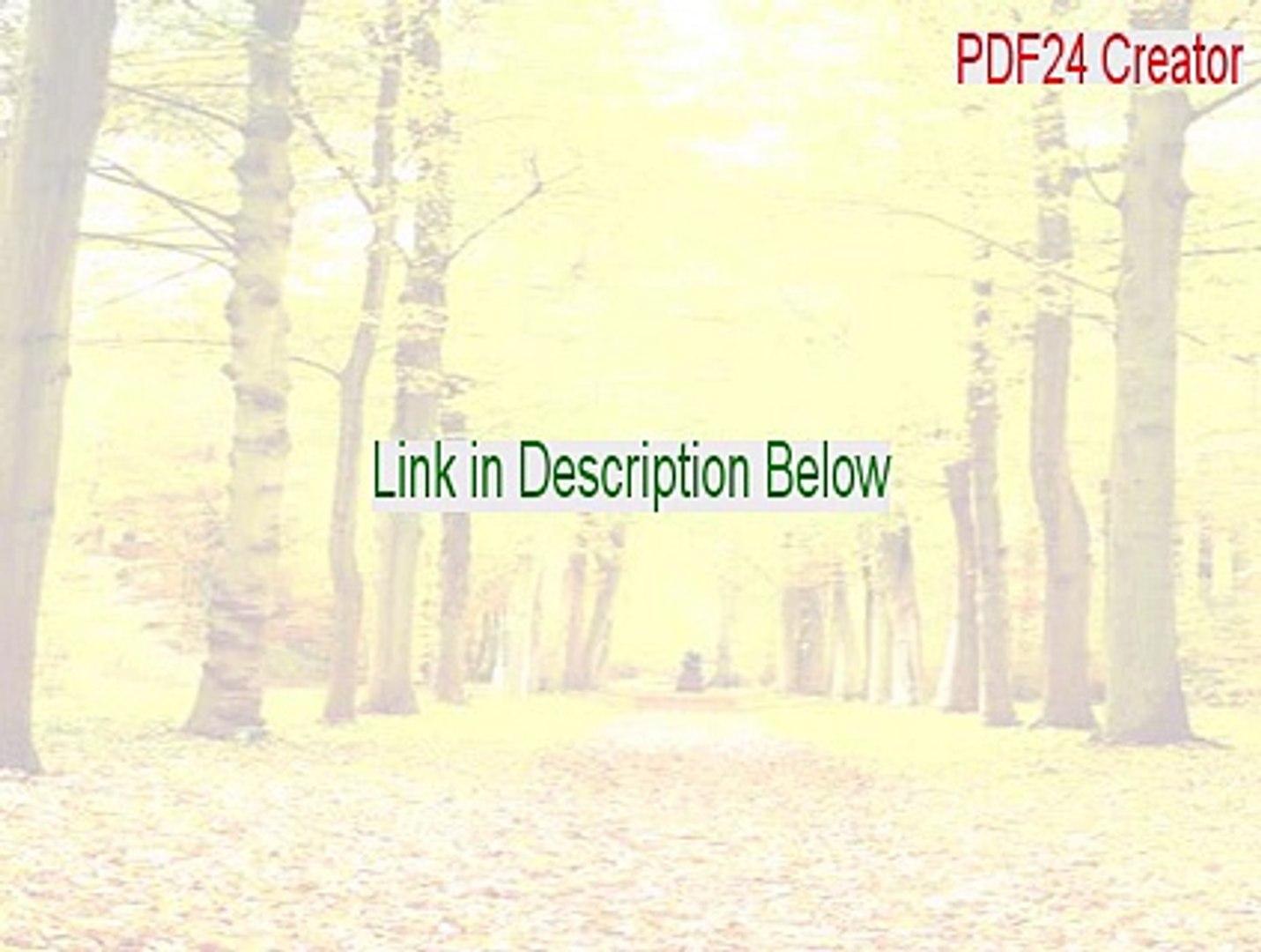 PDF24 Creator Full - pdf24 creator portable (2015)