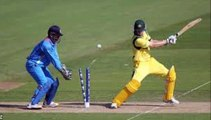 India out Australia at 65 in ICC Champions Trophy warm up cricket match
