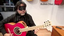 Staring at the fretboard Vs Owning it / Paco de Lucia's Technqiue Flamenco Ruben Diaz / Spain Best Method to learn Modern Contemporary Flamenco Guitar Online / Skype