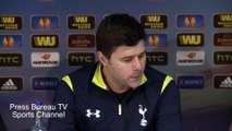 Mauricio Pochettino reaction Tottenham vs Fiorentina