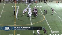 Duke Johnson showed off his speed in high school