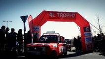 Raid 4L Trophy 2015 - JT n°2 : Départ Officiel
