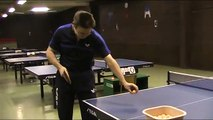 Table tennis tips-table tennis techniques- forehand top spin / loop