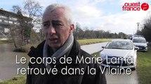 Rennes : le corps de Marie Lama découvert dans la Vilaine