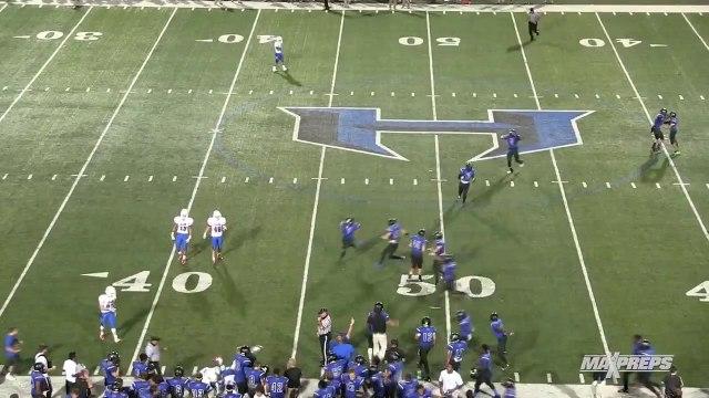 High School Football Team Executes Tricky OnSide Kick