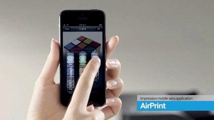 Solution Samsung Mobile AirPrint depuis appareil IOS