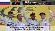Entretien avec Jean-Louis Moncet après le GP de Russie 2014
