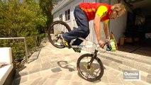 Professional Mountain Biker Hans Rey
