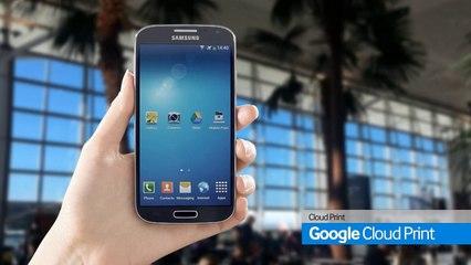 Connexion, impression, scan et fax avec l'appli Samsung Mobile Print