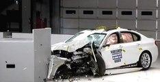 2014 BMW 5 serisi - Dar alanlı çarpışma testi