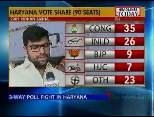 Battle for Haryana !