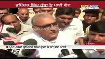 Haryana CM Bhupinder Singh Hooda casts his vote