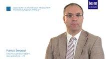 Production pharma : Interview de Patrick Bergeat, LFB